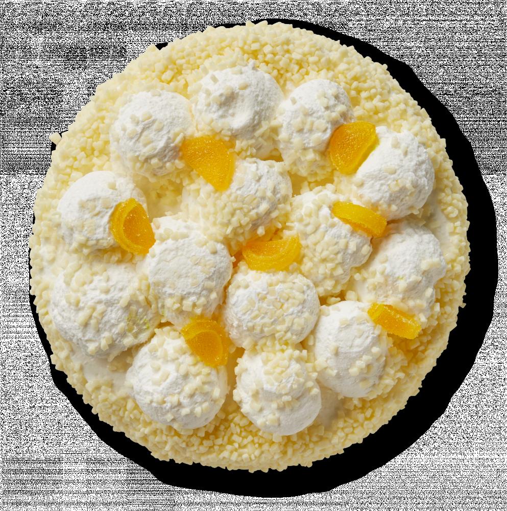 Korengoud Lemon-curd taartje