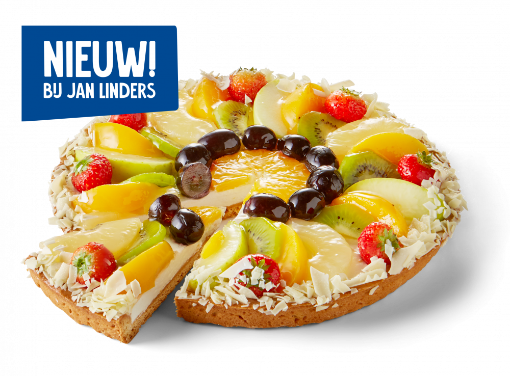 Korengoud Luxe Fruitvlaai