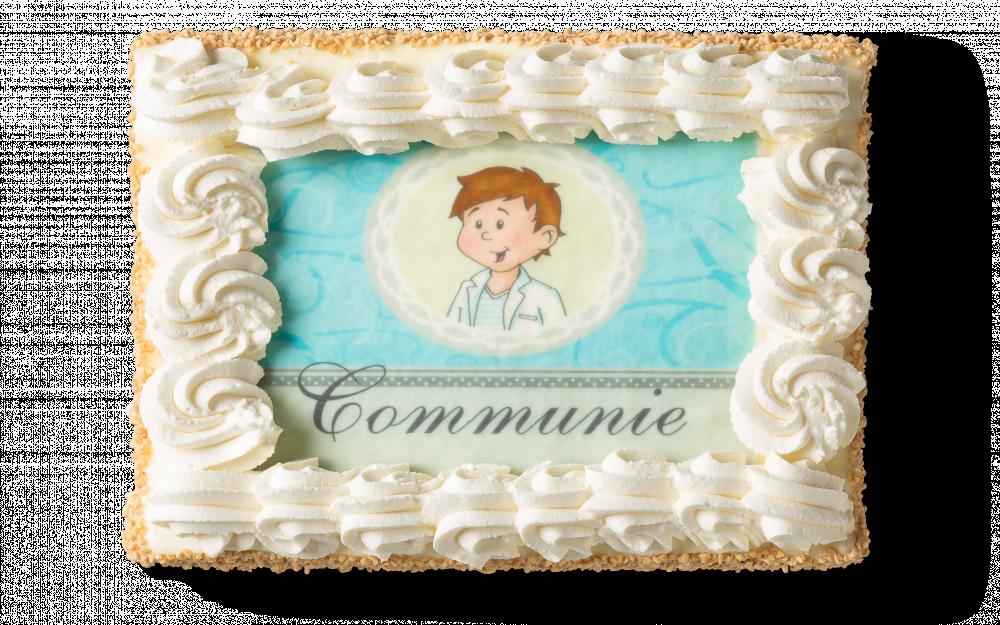 Communietaart Jongen