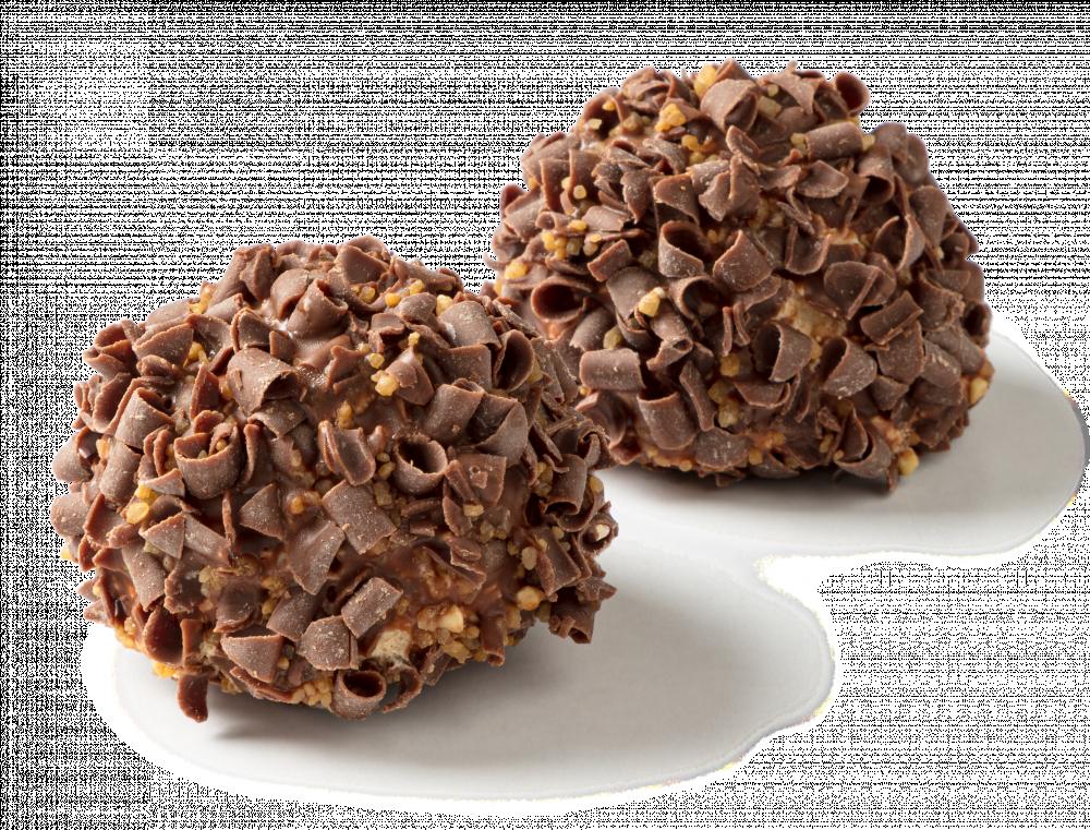 Korengoud Hazelnoot-crème bollen