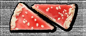 Korengoud Aardbeienbavaroise punten