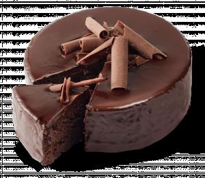 Korengoud Chocolade brownie taartje