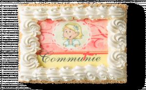 Communietaart Meisje